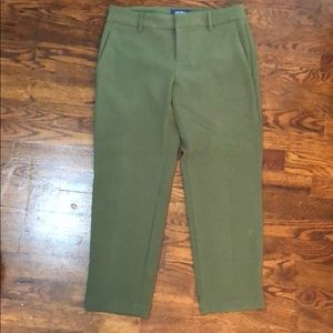 Old Navy Harper olive pants
